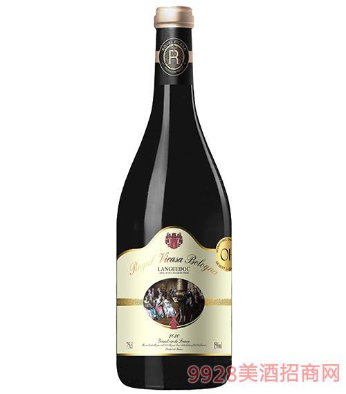 皇家维卡萨·波伦亚干红葡萄酒15度750ml