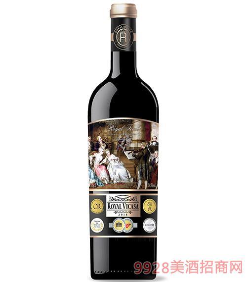 皇家维卡萨·皇家盛宴干红葡萄酒14.5度750ml