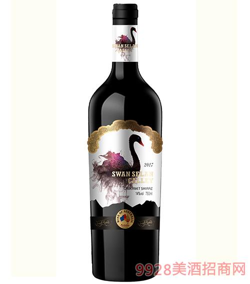 天鹅雪兰谷干红葡萄酒14度750ml