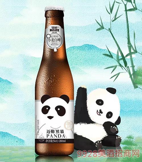 迈勒熊猫精酿啤酒10度280ml