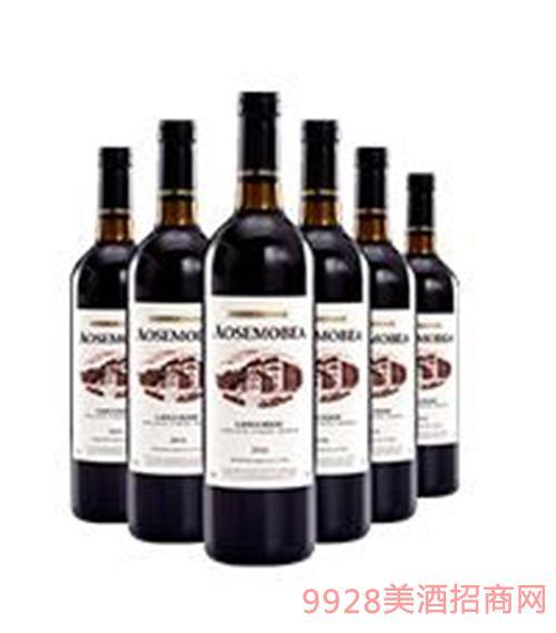 奥斯莫比珍藏干红葡萄酒