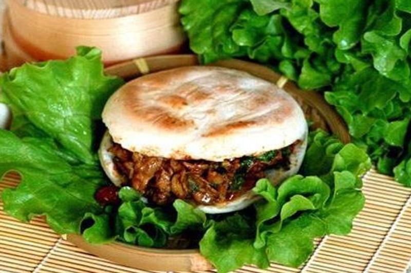 西安美食:肉夹馍