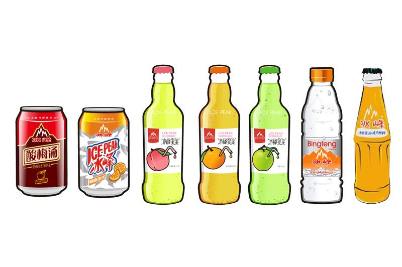 西安热门饮料:冰峰