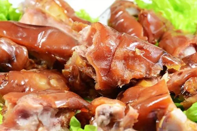 青岛美食之流亭猪蹄