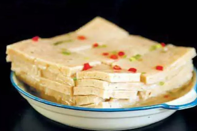 石家庄美食之:西河肉糕