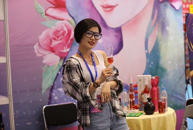女人的酒,予花予尚玫瑰鲜花酒