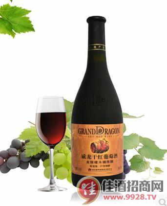 金版威龙橡木桶陈酿干红葡萄酒