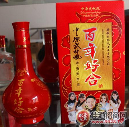 武林风 百年好合酒
