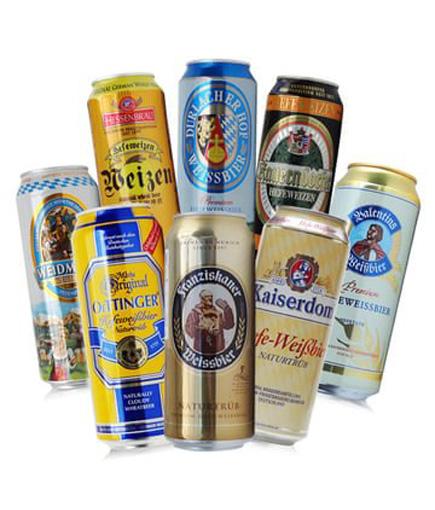 进口啤酒的多种口味受欢迎