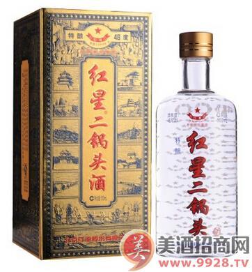 46°红星二锅头酒(特酿)500ml