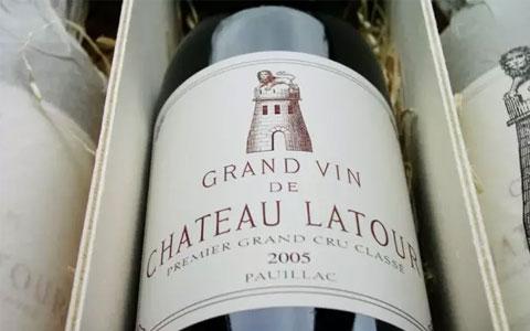 拉图发布2005年正牌葡萄酒价格