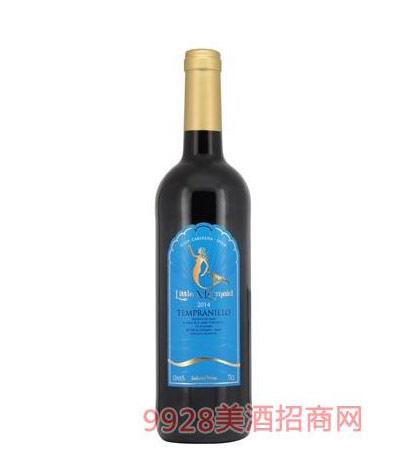 法国美人鱼红葡萄酒代理