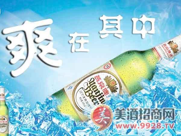 燕京啤酒:爽在其中