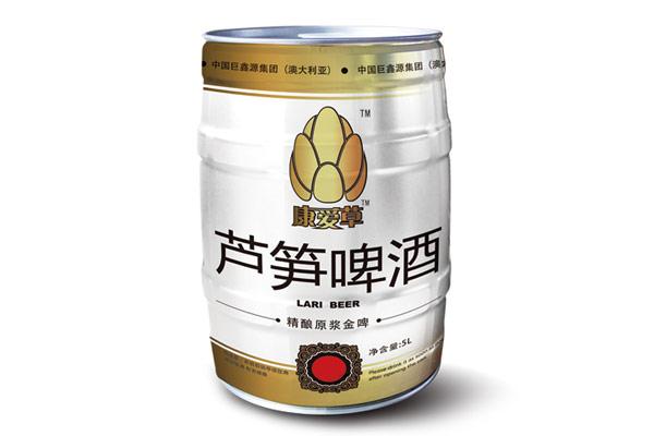 【发现美酒】康爱草芦笋原浆啤酒
