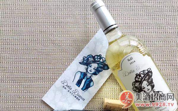 【发现美酒】】智利安卡夫人经典长相思干白葡萄酒