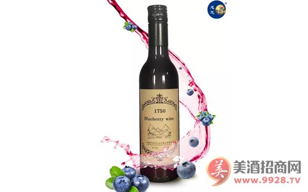 【发现美酒】忠芝野生蓝莓酒