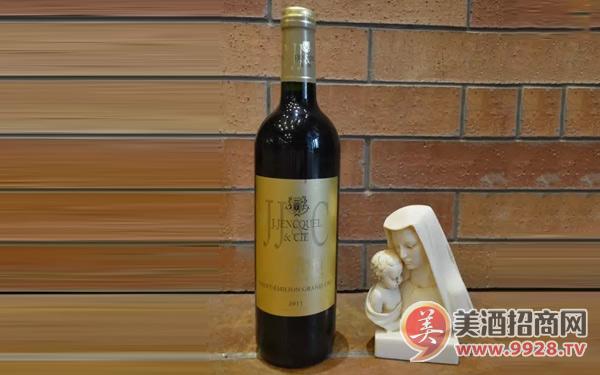 法国捷杰希圣爱美浓一级葡萄园干红葡萄酒:口