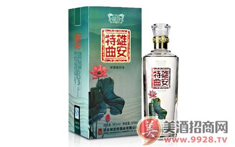 雄安特曲,一款火爆的政策型经济白酒!!