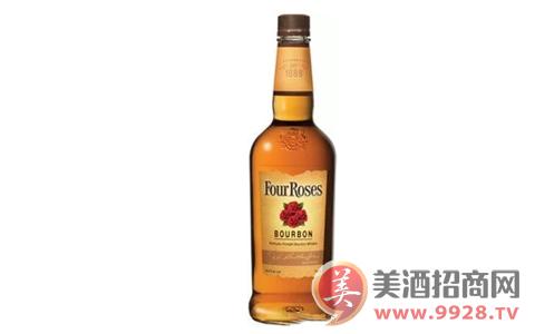 【发现美酒】浪漫威士忌之四玫瑰黄色标签版