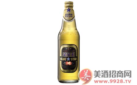 庆祝成功畅饮佳品:蓝星王啤酒