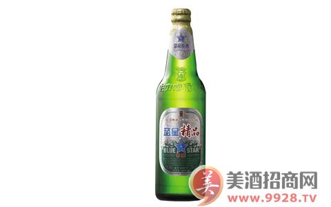 蓝星精品8度啤酒,口味自然,入口顺畅!