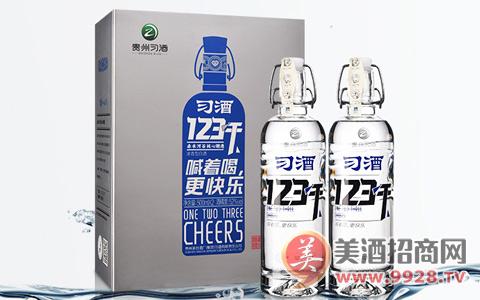 【发现美酒】习酒123干,时尚简约,喊着喝,更快乐