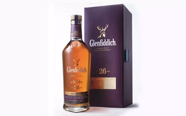 充满活力的格兰菲迪26年单一纯麦苏格兰威士忌