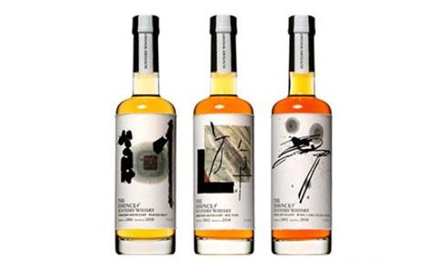 三得利公司推出了一款测试装日本威士忌