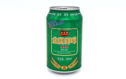 七重控鲜 留住新鲜:金麦鲜啤酒·至纯