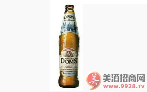 【发现美酒】乌克兰进口多玛斯迷尼色白啤酒 高贵典雅