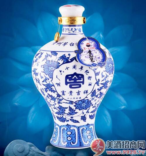 青花瓷茅台酒,价格适中,畅销市场
