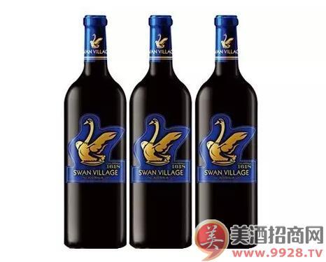 西澳天鹅干红葡萄酒(蓝标)