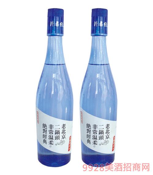 老北京二锅头蓝瓶480mlx12