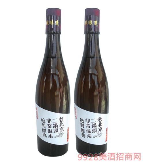 老北京二锅头棕瓶480mlx12
