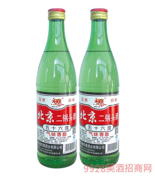 京泰北京二锅头大绿500mlx12