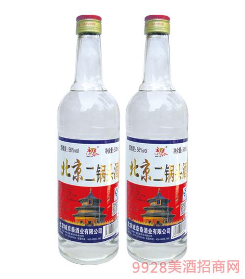 京泰北京二锅头大白(天坛)500mlx12