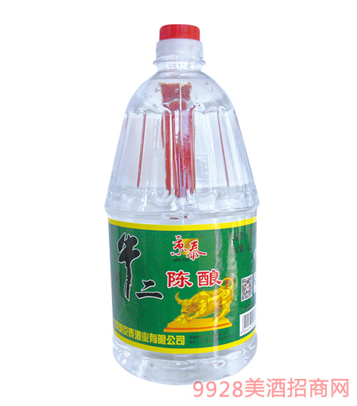 京泰牛二陈酿酒2Lx6