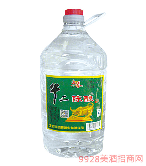 京泰牛二陈酿酒4Lx4