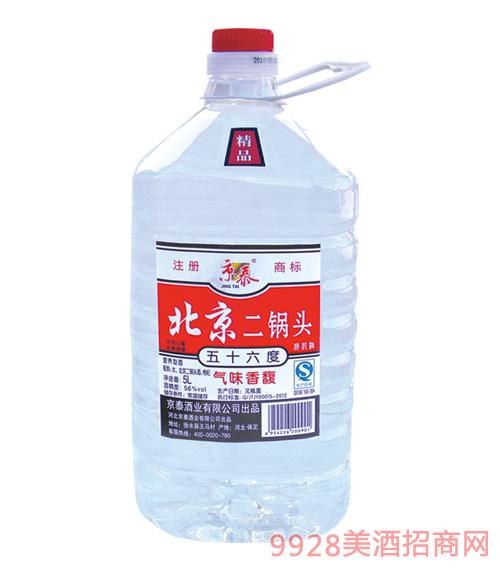 京泰北京二锅头桶酒5L