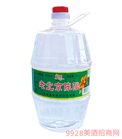 京泰老北京陈酿桶酒42度5L