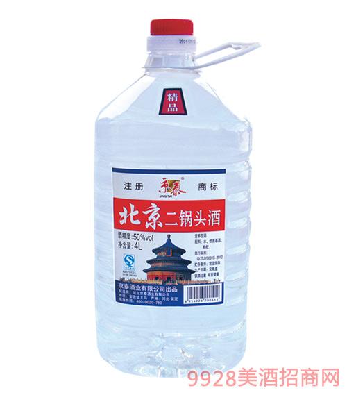 京泰北京二锅头桶酒50度4L