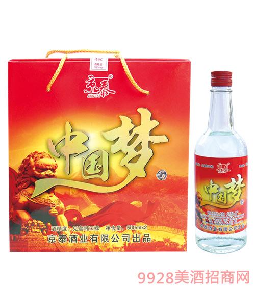 京泰中国梦酒(红)500mlx12