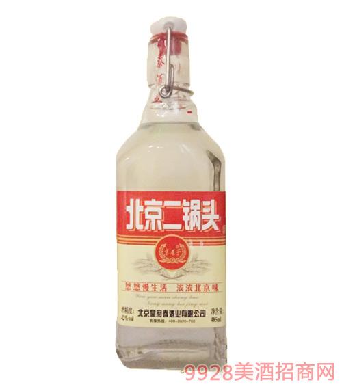 皇府春酒北京二锅头红