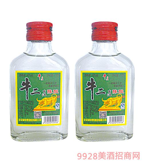 牛二古法陈酿酒100mlx40