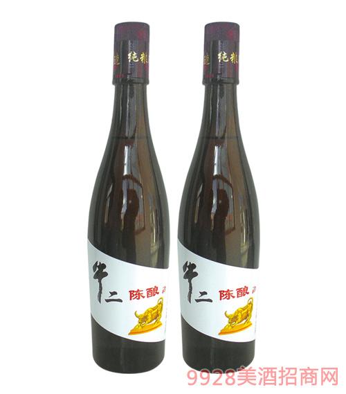 牛二陈酿酒480mlx12