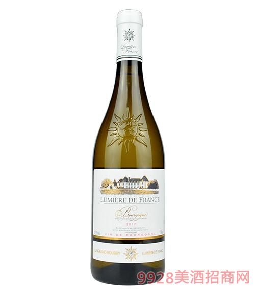 法國之光·勃艮第干白葡萄酒
