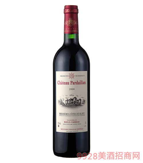 法国之光·派大乐干红葡萄酒