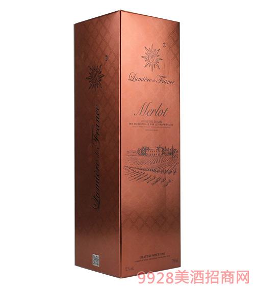 单瓶装梅洛专用礼盒