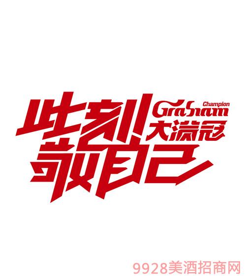 大满冠啤酒logo展示图