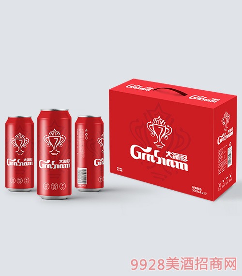 大满冠啤酒此刻敬自己系列330ml罐